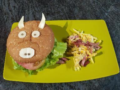 burger vaca